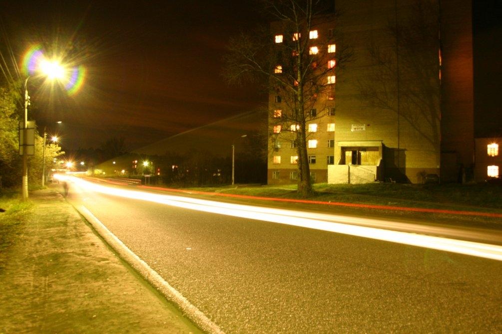 Улица Свердлова, октябрь 2004 года