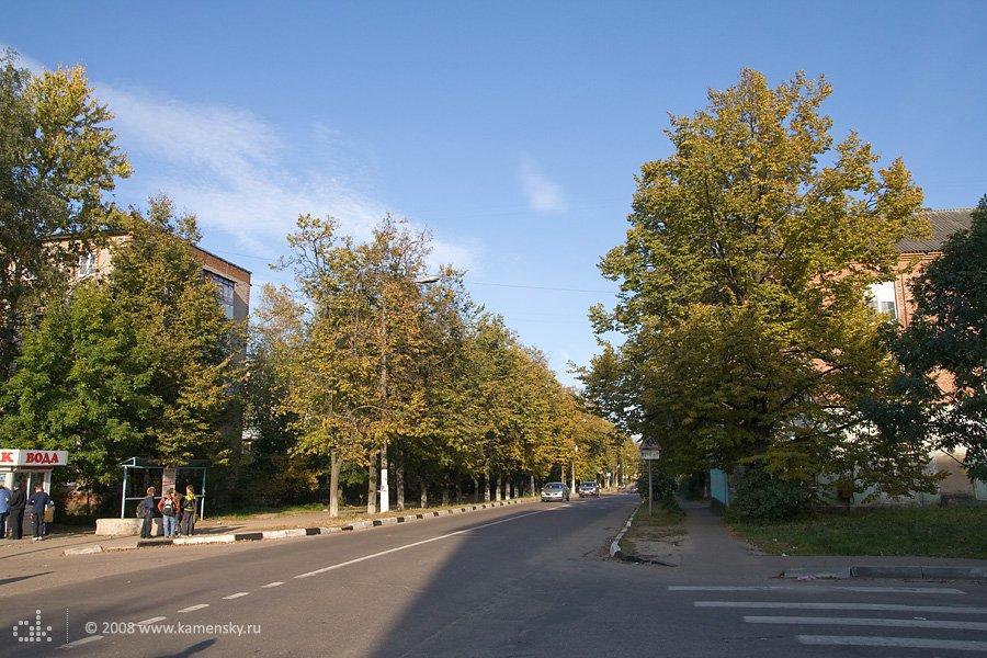 Перекресток улиц Ленина и Пионерской, сентябрь 2008 года