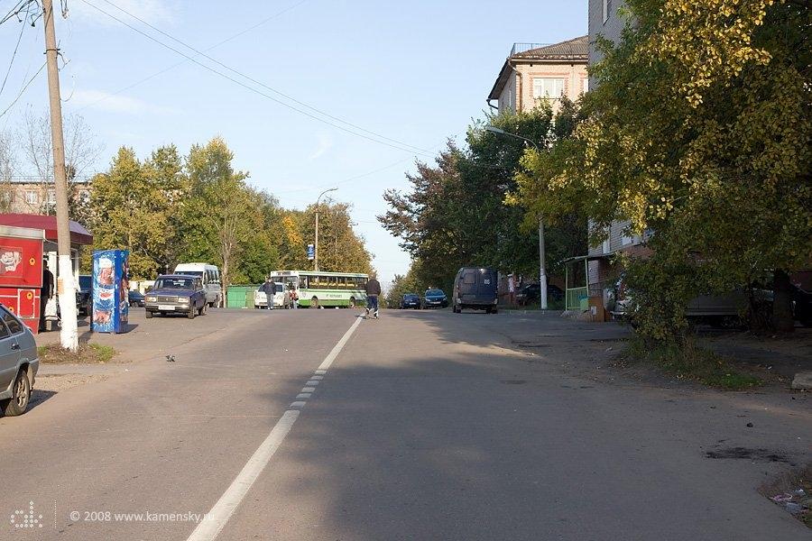 Проспект Ленина и конечная, сентябрь 2008 года