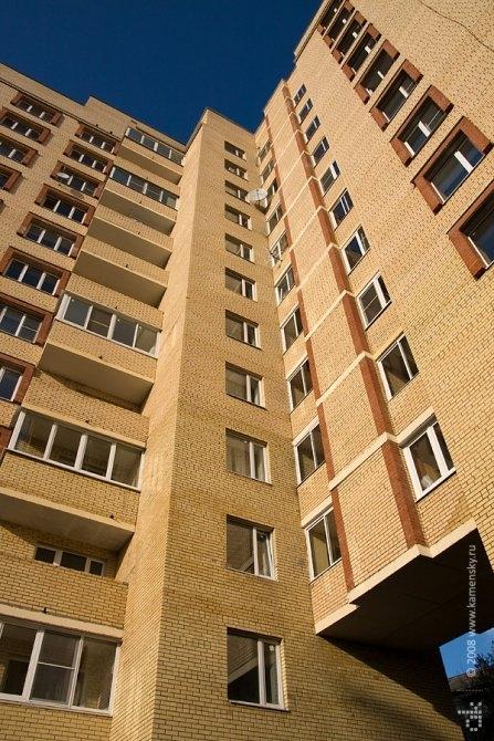 Новый дом №2 на Гагарина, сентябрь 2008 года