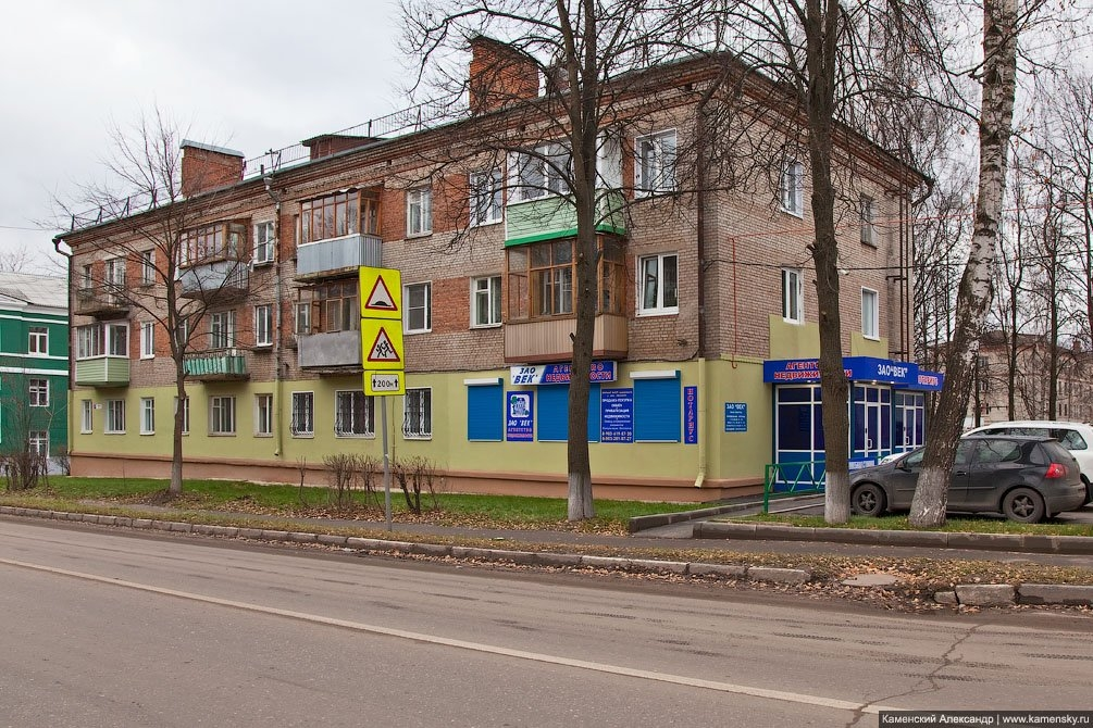 Дом №9 на проспекте Ленина, ноябрь 2010 года