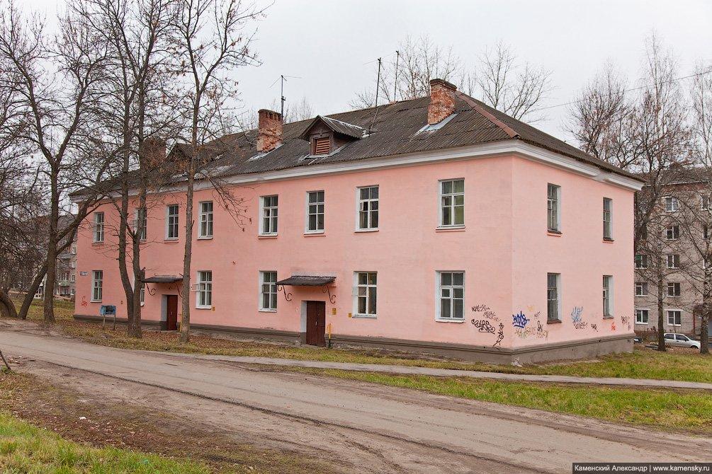 """""""Шлаковые"""" дома на улице 8 марта, апрель 2011 года"""