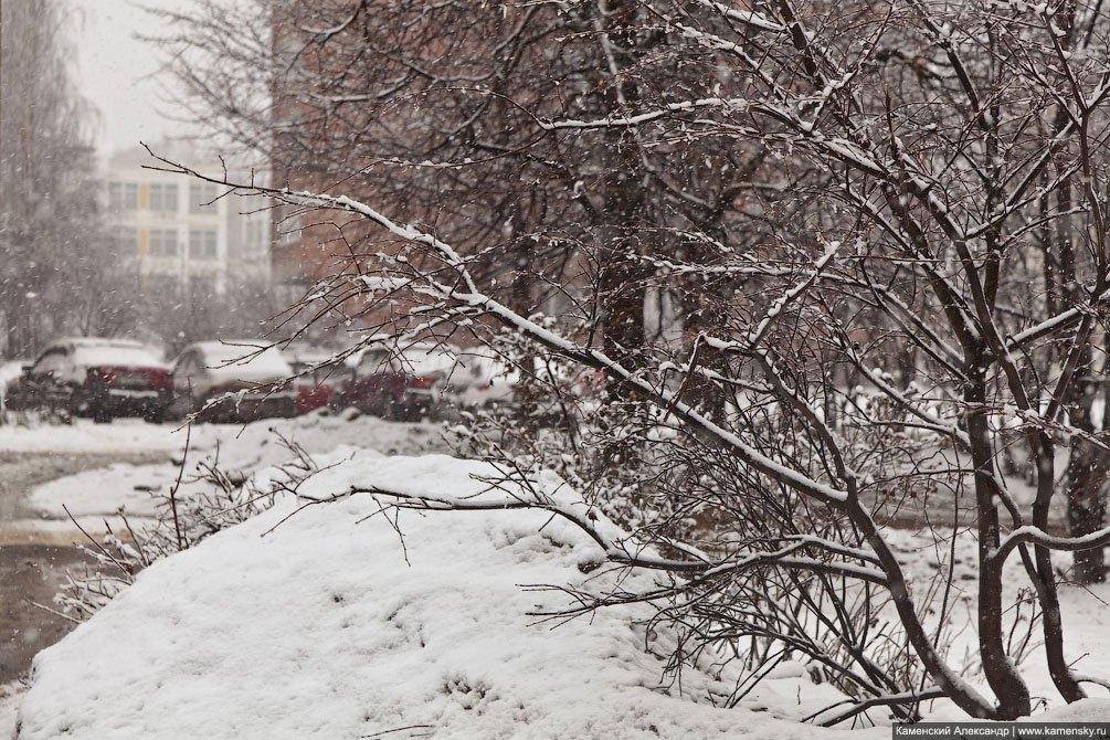 Апрельский снег в городе, 2011 год
