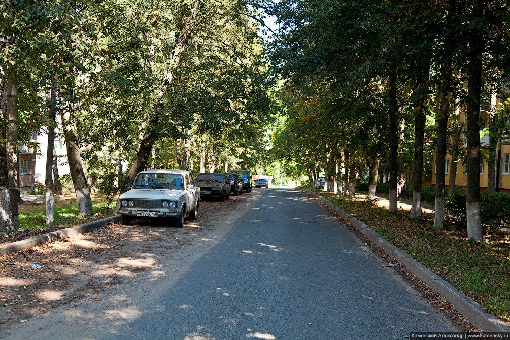 Улица Строителей, август 2011 года