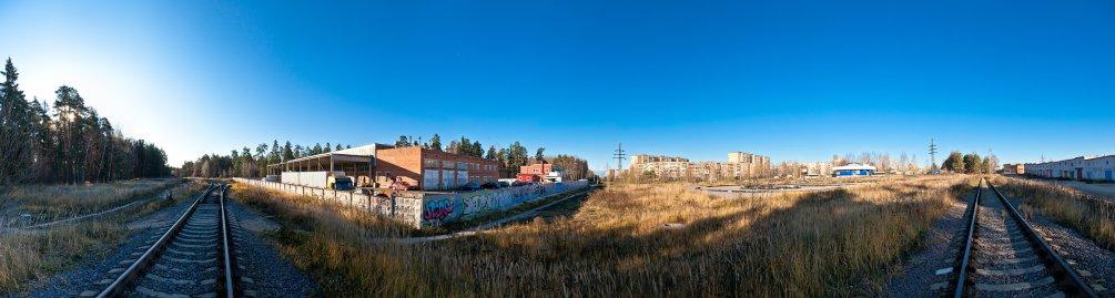 Панорама проспекта Испытателей, ноябрь 2011 года