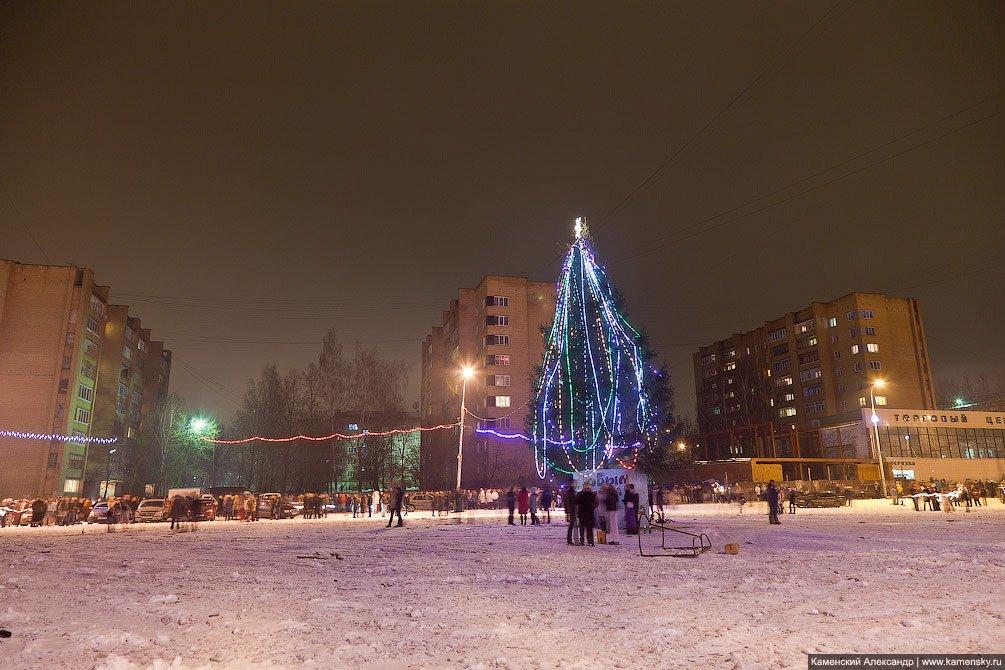 Елка на стадионе, Новый год 2012 в Красноармейске