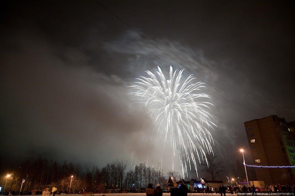 Новогодний салют 2012 года