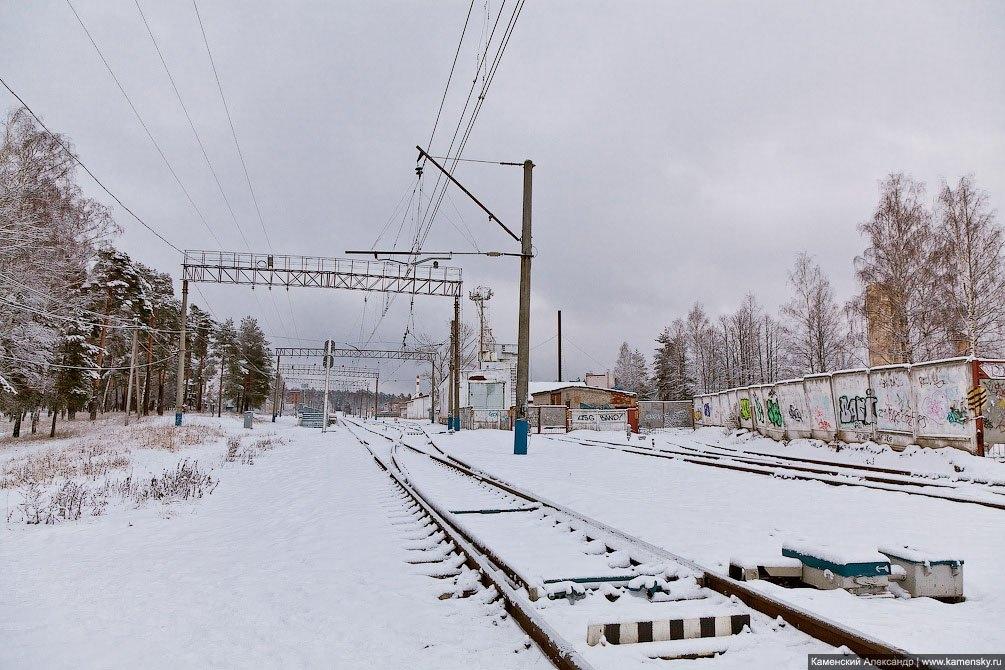Первый день Нового 2012 года, станция Красноармейск