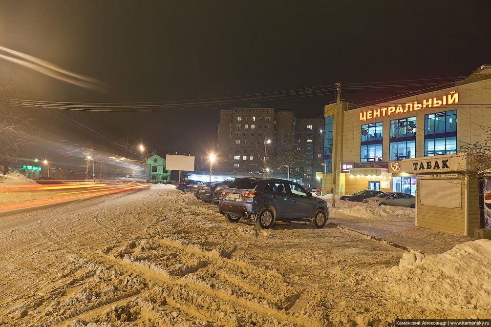 ТЦ Центральный на Новой жизни, декабрь 2012 года