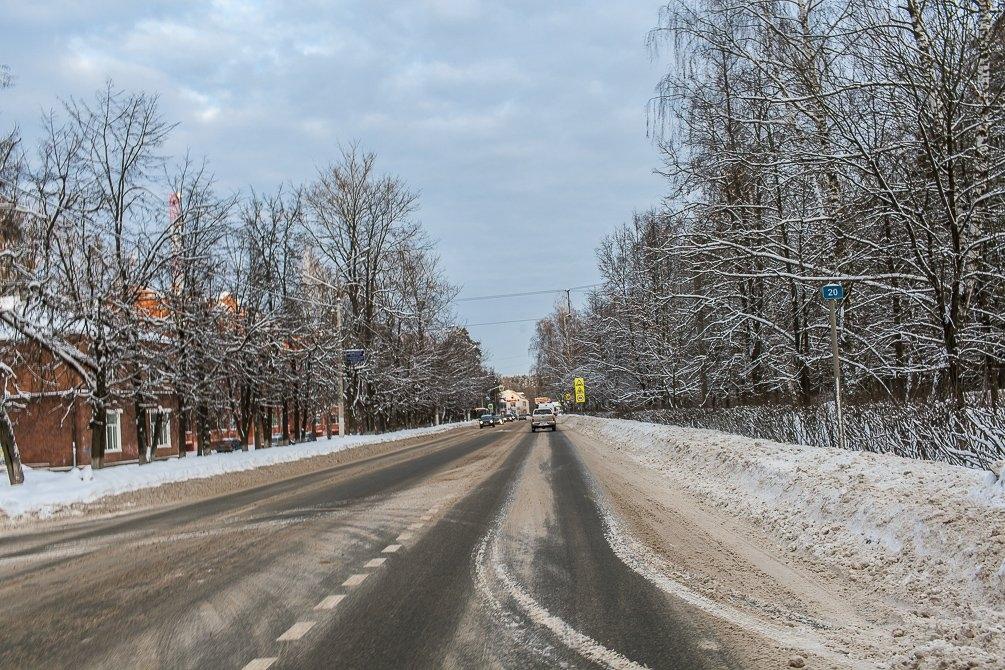 Улица Чкалова, январь 2015 года