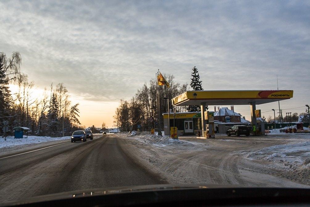 Красноармейское шоссе, район бетонки