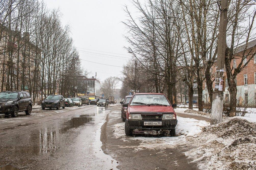 Улица Пионерская, март 2015 года