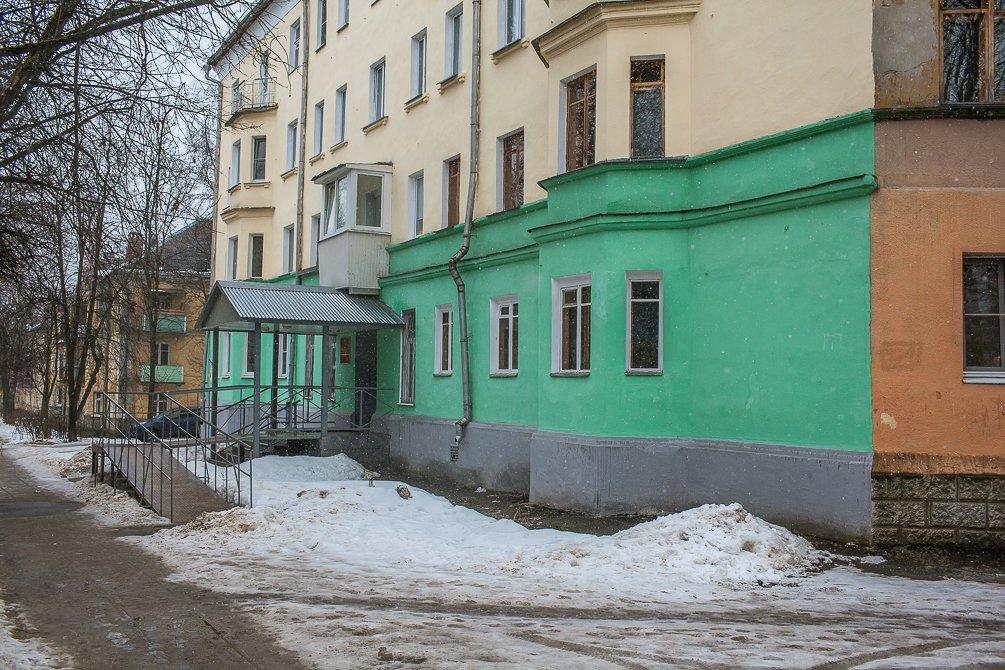 Улица Комсомолськая, март 2015 года