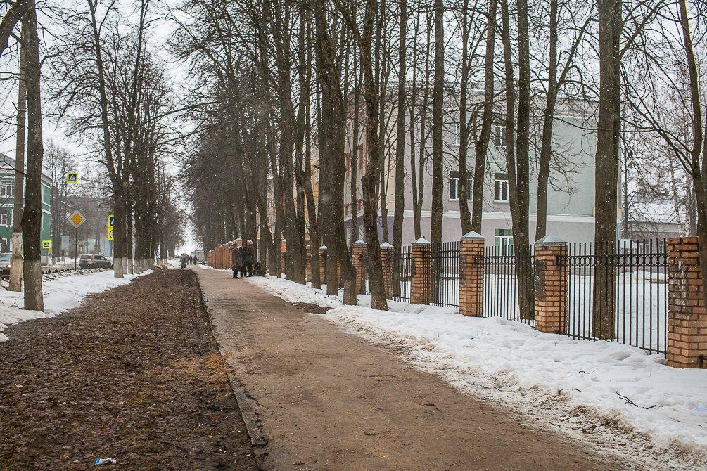 Проспект Ленина, март 2015 года