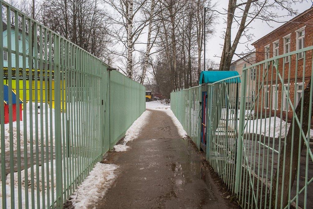 Улица Дачная, март 2015 года