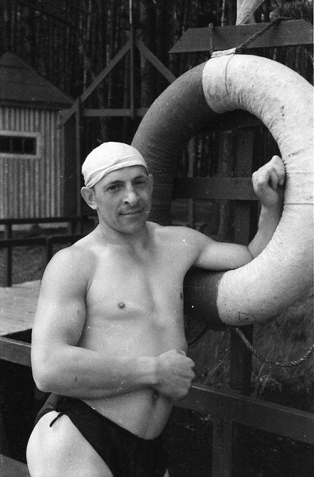 На лодочной станции в Красноармейске, 1960-е годы