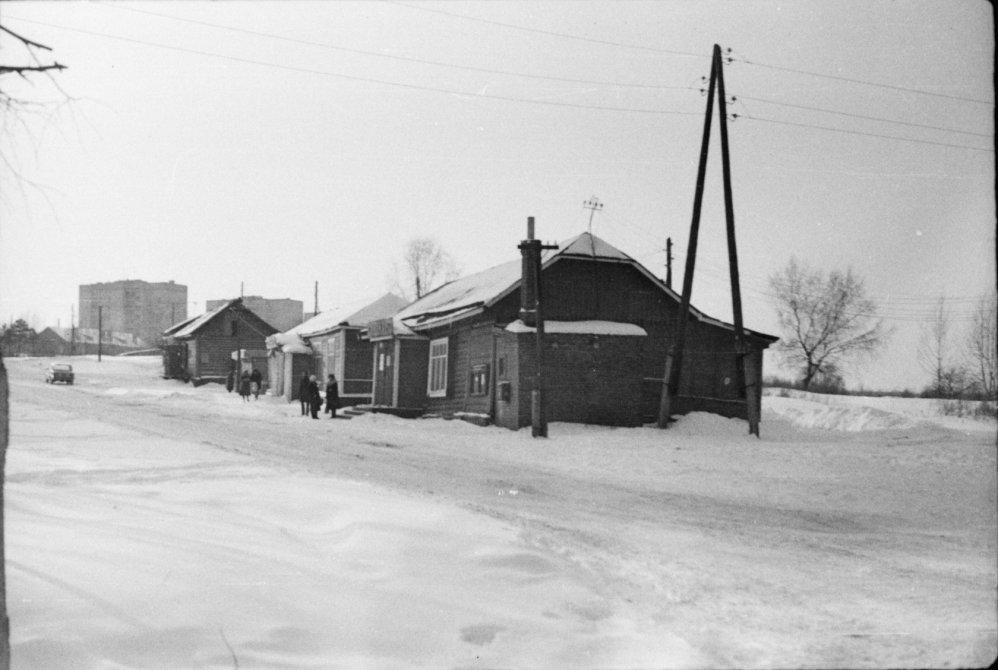 Бараки на Краснофлотской улице, 1950-е годы