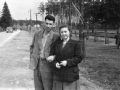 Горожане на улице Чкалова, 1950-е годы