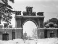 Московские (красные) ворота в Красноармейске, 1950-е годы