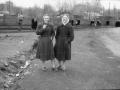 Горожане на улице Чкалова в районе площади Победы, 1950-е годы