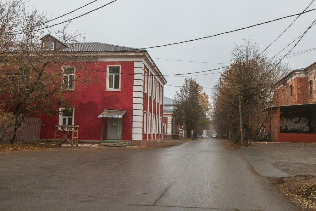 Улица Свердлова, октябрь 2015 года