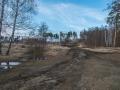 Дорожка от улицы Гагарина до Путиловского моста, апрель 2016 года