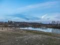Воря в районе Путиловского моста, апрель 2016 года