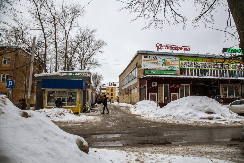 Улица Пионерская, февраль 2017