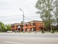 """Новому торговому центру в доме 7 на улице Чкалова дали имя """"Торговый дом Е.Ф. Миндера"""", что намекает на преемственность с владельцами фабрики, июнь 2017 года"""
