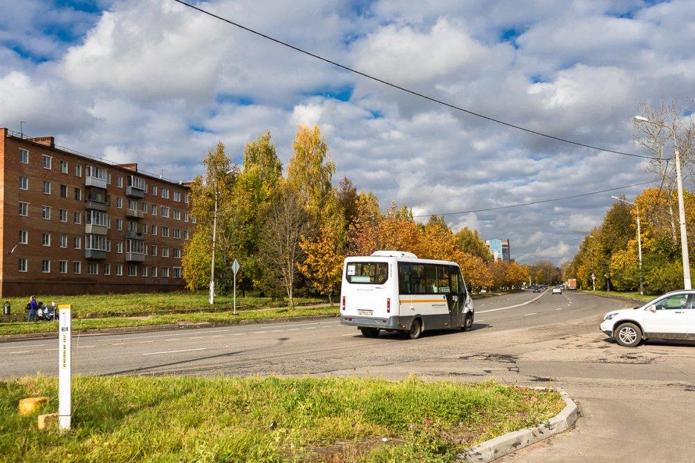 Новые маршрутные такси в городе, октябрь 2017 года