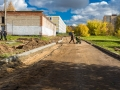 Дорога к 6 школе, октябрь 2017 года