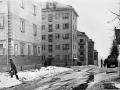 На снимке дома №13/9 и №15 по проспекту Ленина, 1970-е годы
