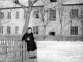 Во дворе дома 3 по улице 8 марта, 1960-е годы