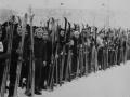 Соревнования по лыжному спорту вокруг ДК им. Ленина, 1980 год