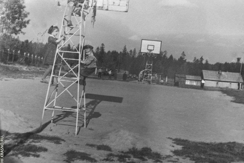 Площадка для баскетбола стадиона Зенит, 1960-е годы