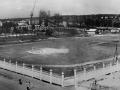 Вид на стадион со строящейся школы №3, 1960-е годы