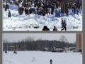 Стадион Зенит, сравнительное фото