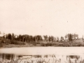 Река Воря в районе лодочной станции, 1980-е годы