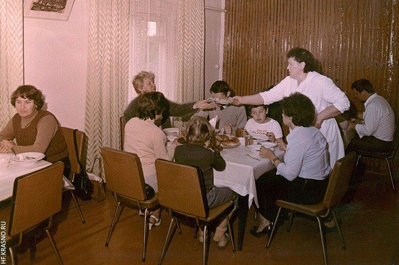 Столовая профилактория КНИИМ, 1980-е годы
