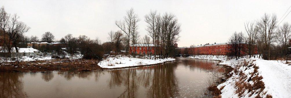 Река Воря и водоотводной канал, 2006 год
