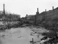 Река Воря около городской плотины, 1970-е годы