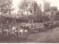 Строительство новой плотине на реке Воре, 1900 год