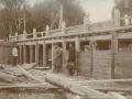 Реконструкция городской плотины в 1927 году