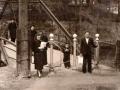 "Английский ""висячий"" мост, 1955 год"