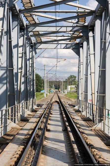 ЖД-Мост через Ворю, 2007 год