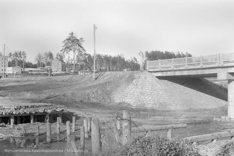 Болгарский мост был разрушен в 60-х годах, на его месте в 70-е был возведен новый «высокий» автомобильный мост.