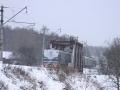 Экспериментальный электропоезд ЭМ1-К-1019 рейсом до Красноармейска
