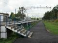 До 2009 года высокая пассажирская платформа на станции Красноармейск, построенная в 1994 году, не имела перил