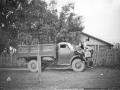 Деревня Путилово, 1960-е годы, автомобиль ГАЗ-63 повышенной проходимости