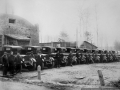 Гараж Софринского артиллерийского полигона (сейчас НИИ Геодезия), 1940-е годы, ГАЗ-АА